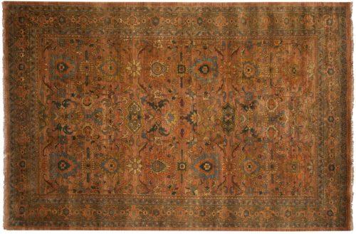 6×9 Agra Rust Oriental Rug 038083
