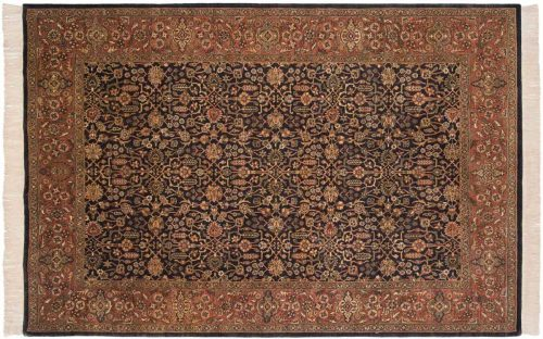 6×9 Amritsar Grey Oriental Rug 032539