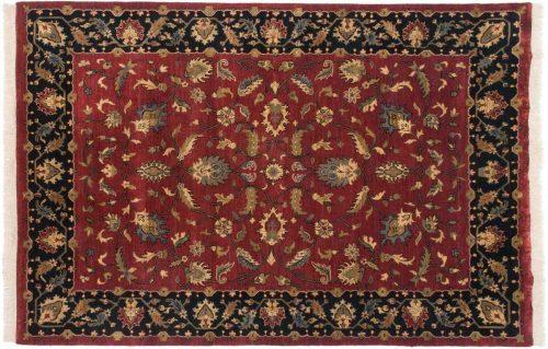 6×9 Floral Red Oriental Rug 039532