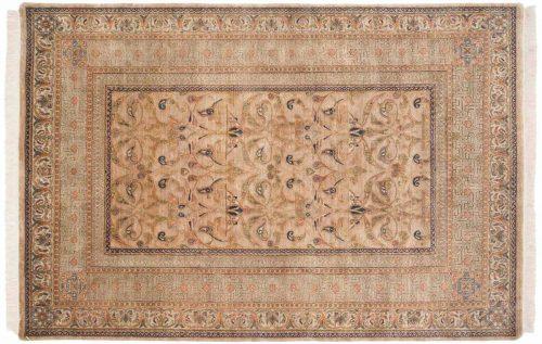 6×9 Art Nouveau Gold Oriental Rug 038833