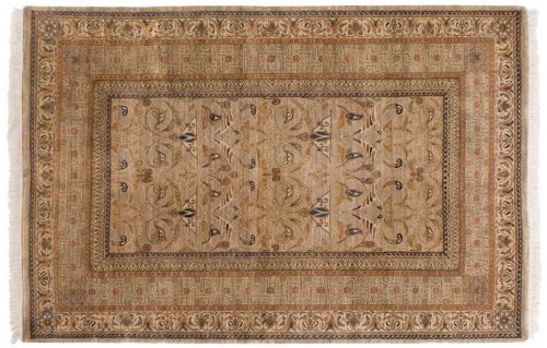 6×9 Art Nouveau Gold Oriental Rug 039530