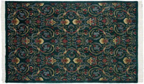 6×9 Arts & Crafts Green Oriental Rug 036385