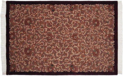 6×9 Arts & Crafts Peach Oriental Rug 038251