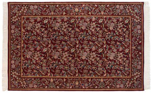 6×9 Aubusson Burgundy Oriental Rug 032084