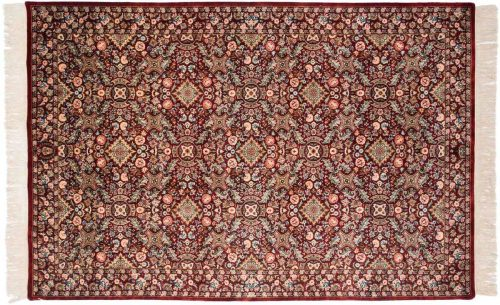 6×9 Aubusson Red Oriental Rug 032077