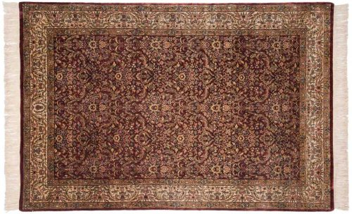 6×9 Baktiari Brown Oriental Rug 032419