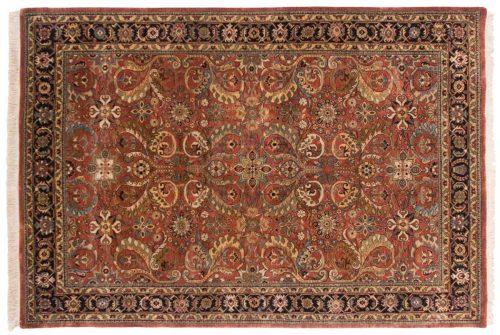 6×9 Baktiari Rust Oriental Rug 041663