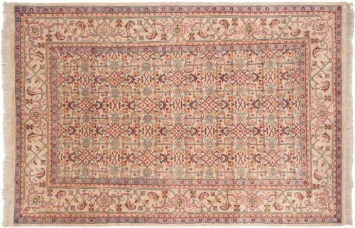 6×9 Herati Beige Oriental Rug 031587