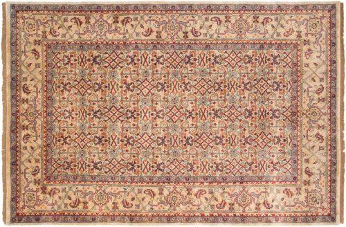 6×9 Herati Beige Oriental Rug 031989