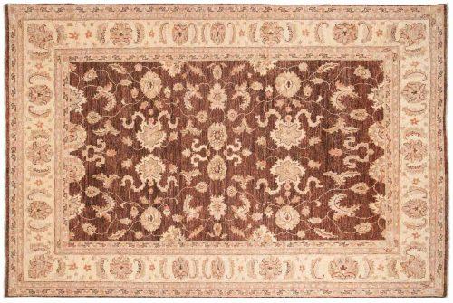 6×9 Chobi Brown Oriental Rug 041556