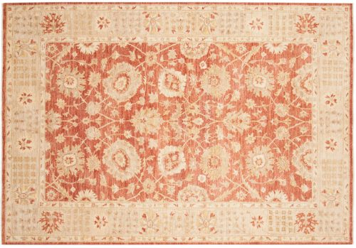 6×9 Chobi Rust Oriental Rug 048988