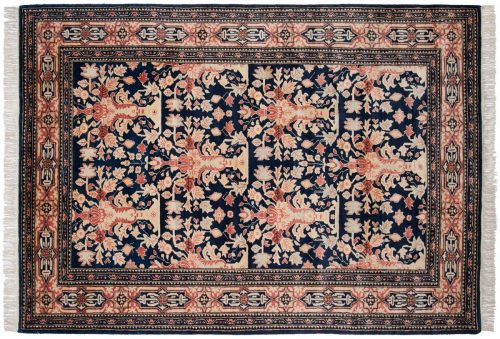 6×9 Feraghan Blue Oriental Rug 025951