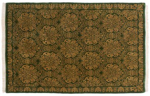 6×9 Damask Green Oriental Rug 037027