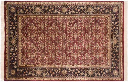 6×9 Herati Burgundy Oriental Rug 032092