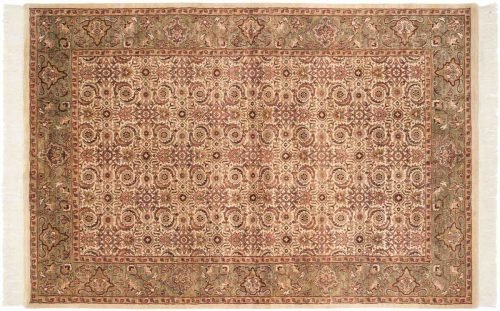 6×9 Herati Ivory Oriental Rug 031816