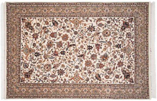 6×9 Isfahan Ivory Oriental Rug 037560