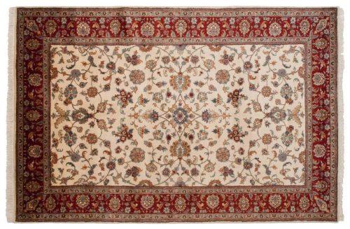 6×9 Mahal Ivory Oriental Rug 023891
