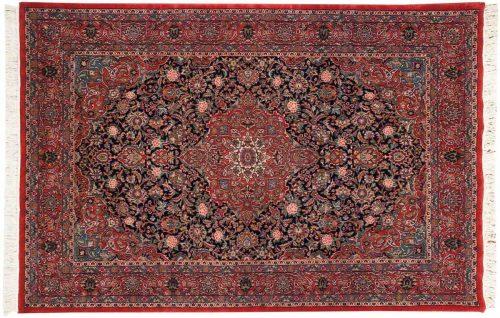 6×9 Kashan Blue Oriental Rug 030720