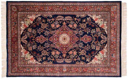 6×9 Kashan Blue Oriental Rug 031948