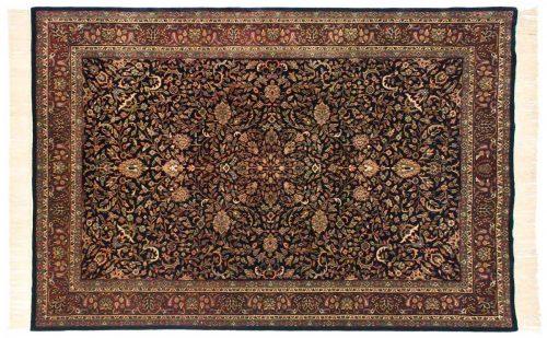 6×9 Kashan Blue Oriental Rug 032170