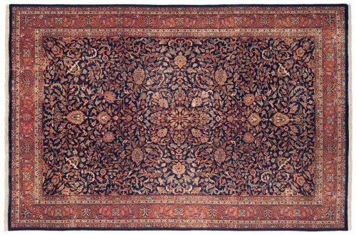 6×9 Kashan Blue Oriental Rug 043258