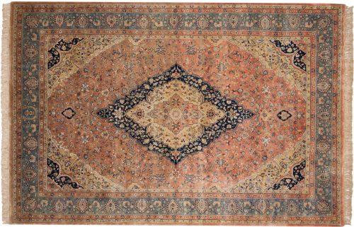 6×9 Kashan Peach Oriental Rug 017020