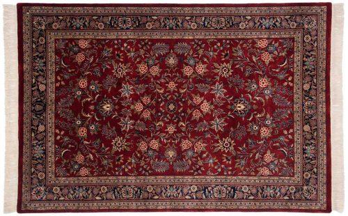 6×9 Kashan Red Oriental Rug 032363