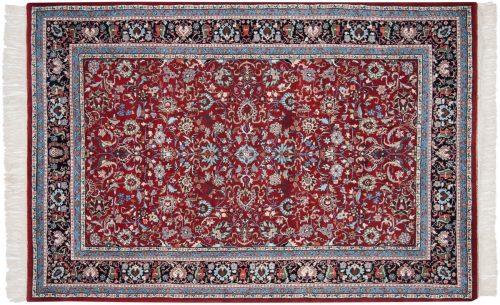 6×9 Kashan Red Oriental Rug 033552