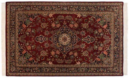 6×9 Kashan Red Oriental Rug 045952
