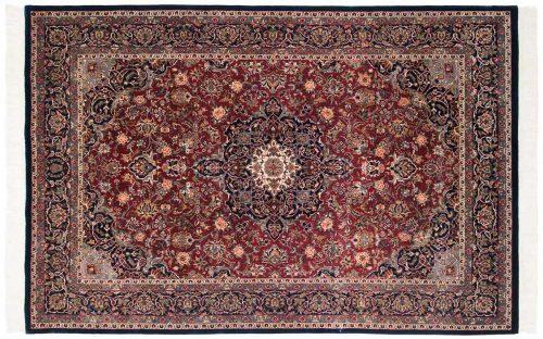 6×9 Kashan Red Oriental Rug 046900