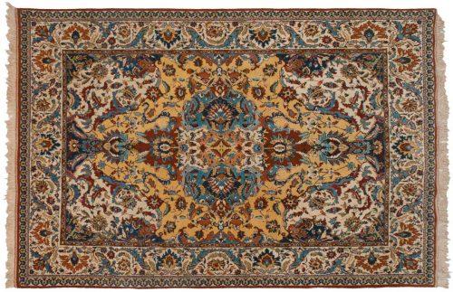 6×9 Kashmir Gold Oriental Rug 022282