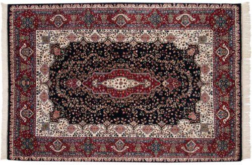 6×9 Kerman Blue Oriental Rug 015864