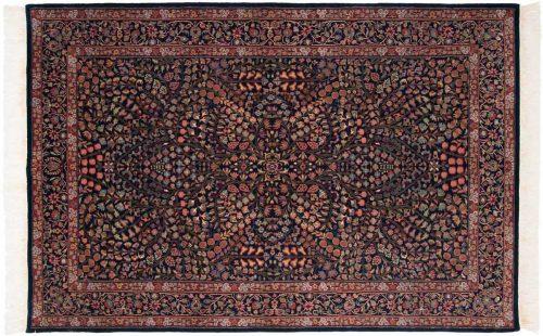 6×9 Kerman Blue Oriental Rug 031581