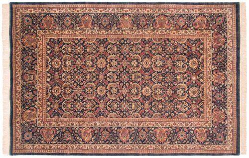 6×9 Kerman Blue Oriental Rug 038249