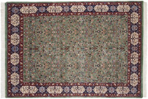 6×9 Kerman Green Oriental Rug 016420
