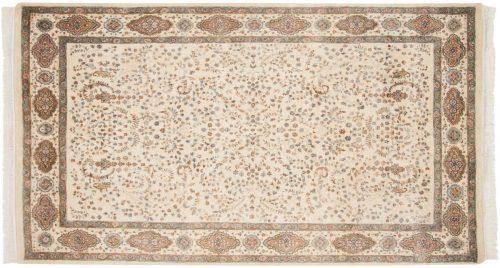 6×9 Kerman Ivory Oriental Rug 023772