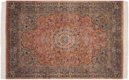 6×9 Kerman Rose Oriental Rug 026218