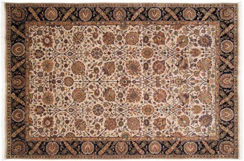 6×9 Mahal Beige Oriental Rug 026994