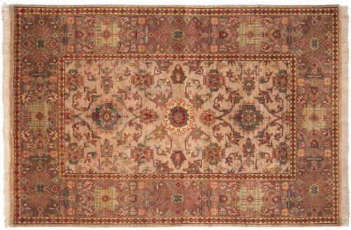6×9 Mahal Beige Oriental Rug 037948