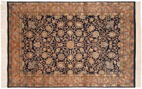 6×9 Meshed Blue Oriental Rug 032370