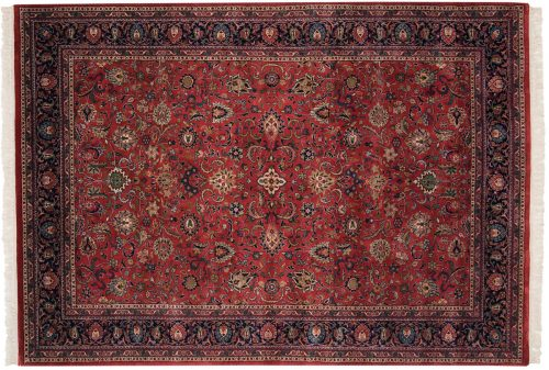 6×9 Meshed Red Oriental Rug 024559