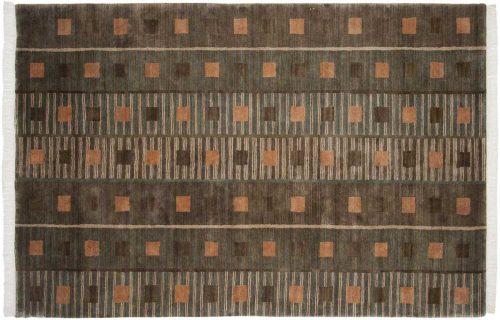 6×9 Geometric Multi Color Oriental Rug 038509