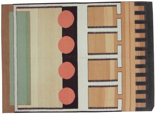 6×9 Nicholls Multi Color Oriental Rug 012826