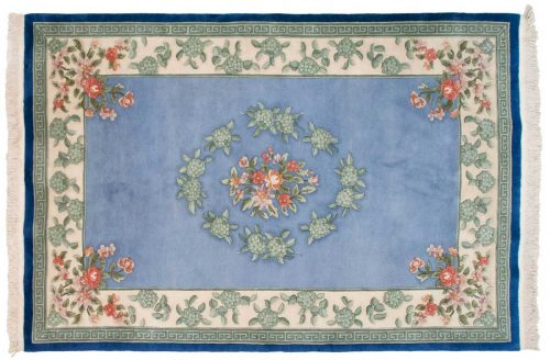 6×9 Peking Blue Oriental Rug 018057