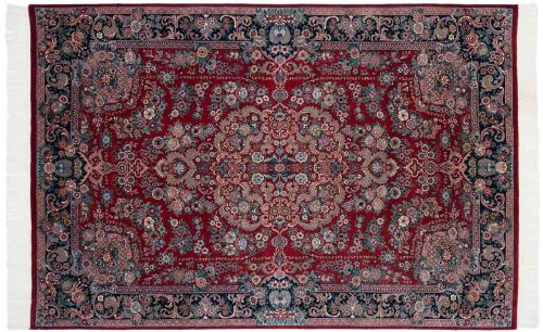 6×9 Aubusson Red Oriental Rug 025733