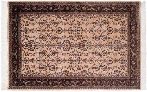 6×9 Sarouk Beige Oriental Rug 032080
