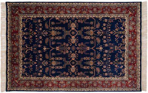 6×9 Sarouk Blue Oriental Rug 032000