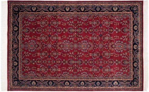6×9 Sarouk Burgundy Oriental Rug 031700