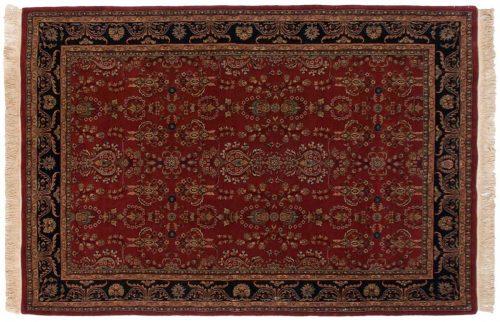 6×9 Sarouk Burgundy Oriental Rug 031701