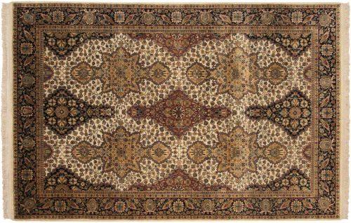 6×9 Sarouk Gold Oriental Rug 039132
